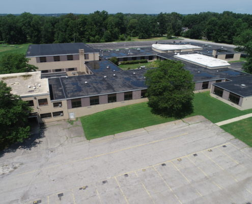 COMMERCIAL ROOF REPLACEMENT GLENWOOD SCHOOL - BOARDMAN, OH