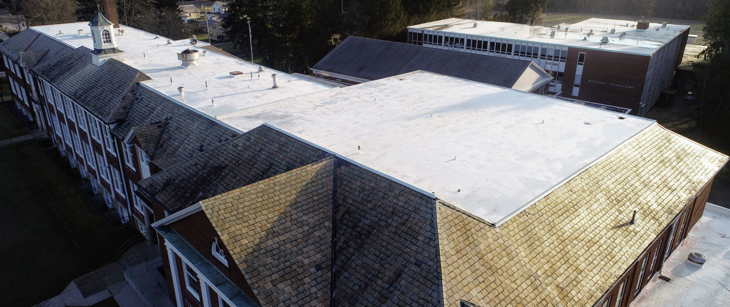 TEMA-Poland School Roofing Project