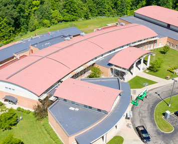 Infrared Moisture Scan To Determine Scope Of School Roof Repair – Youngstown City Schools – Youngstown, OH